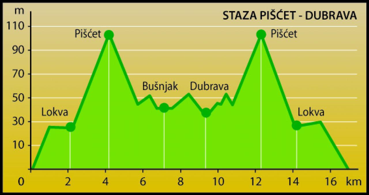 PIŠĆET - DUBRAVA